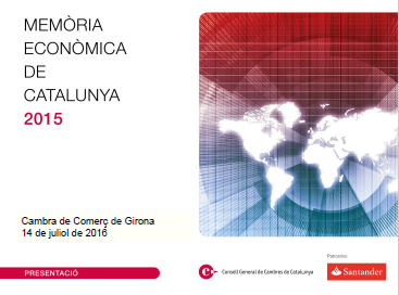 memoria economica catalunya 2016
