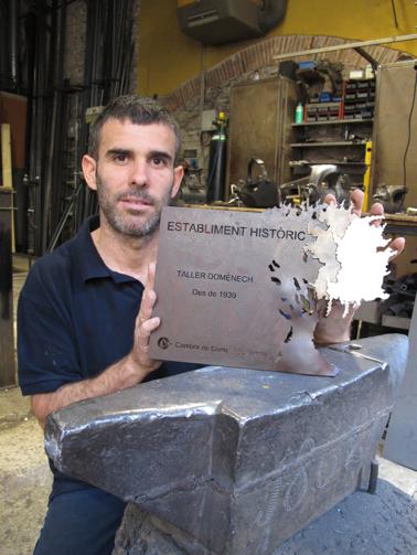 Guardons Establiments Històrics Cambra Comerç Girona
