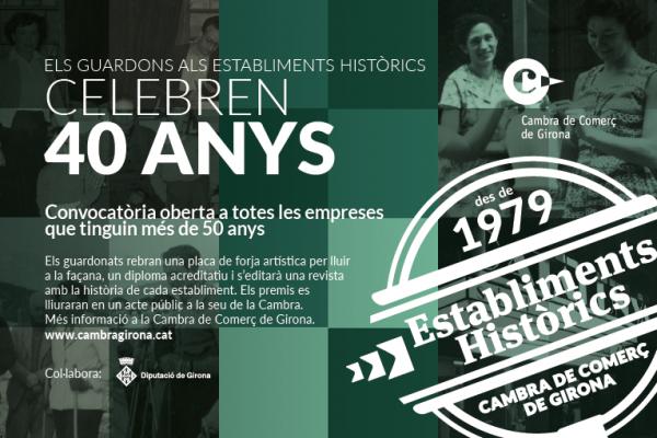establiments històrics anunci dels 40 anys